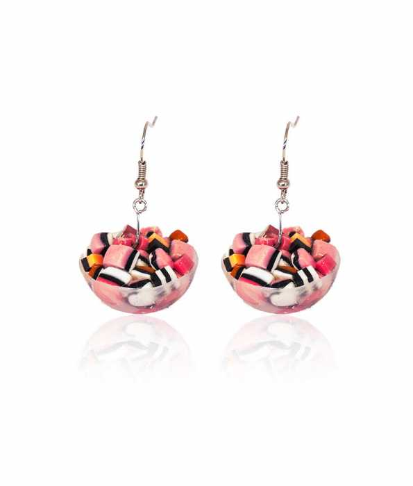 BASSETS CANDY BOWL EARRINGS