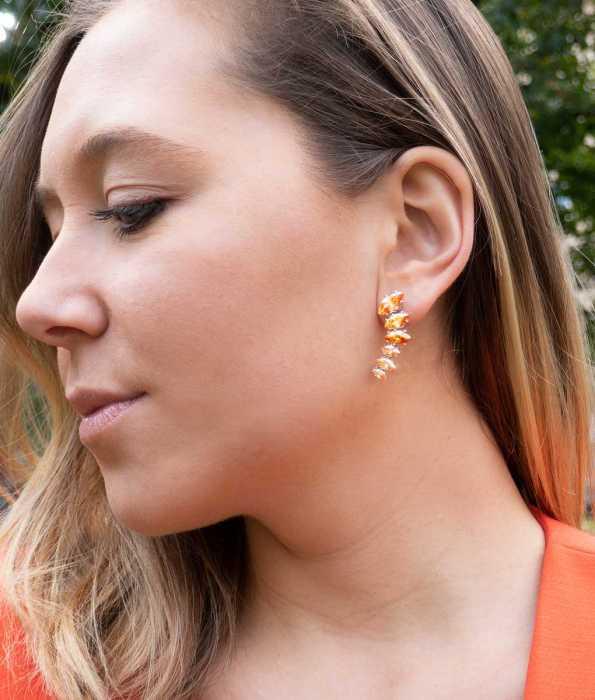 SPINE EARRINGS